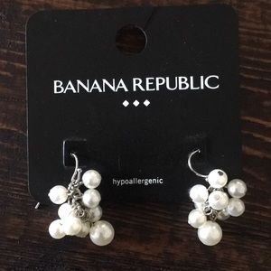 NEW Banana Republic hypoallergenic earrings